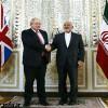 وزرای امور خارجه ایران و انگلستان دیدار و گفتگو کردند