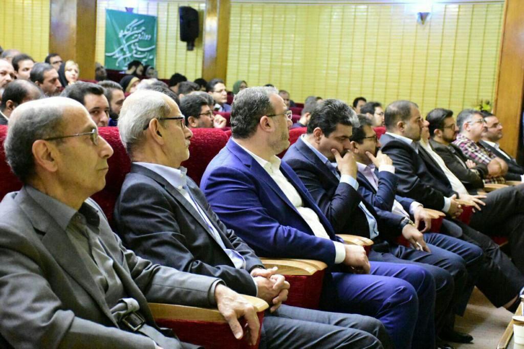 حضور اعضای نهضت آزادی ایران در کنگره سازمان عدالت و آزادی ایران اسلامی