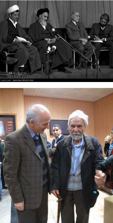 دکتر غلامعباس توسلی، یار قدیمی مهندس بازرگان، امروز در همایش بازرگان و انقلاب اسلامی.