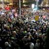 تظاهرات هزاران نفر در اسرائیل علیه  نتانیاهو